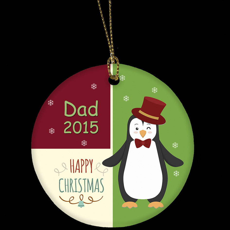 Personalised Christmas Ornament for Dad or Grandad