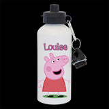 Personalised Peppa Pig Water Bottle, Peppa Pig drink bottle