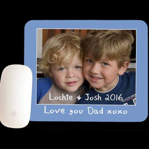 Personalised Fathers Day Mouse Pad, Photo Mouse pad