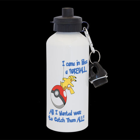 Pokemon Go water bottle