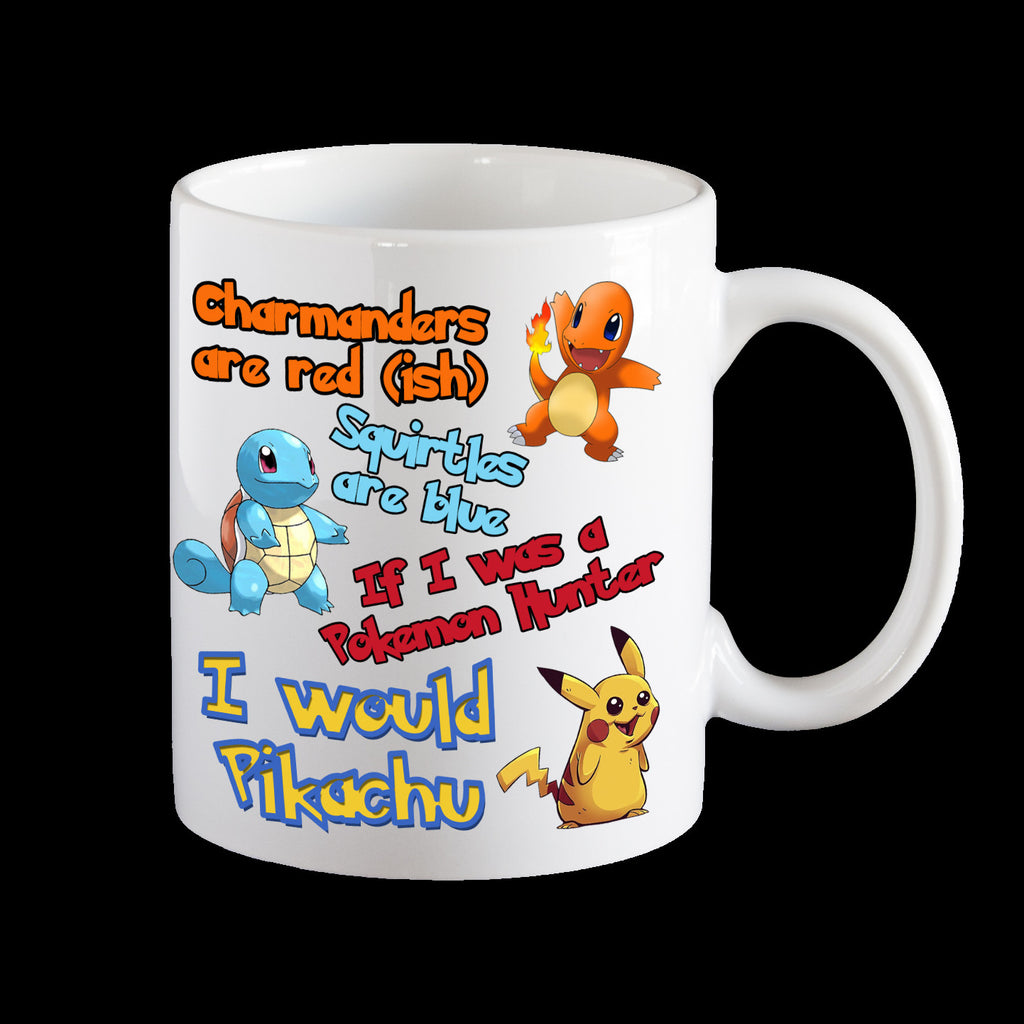 Funny Pokemon Valentines day mug