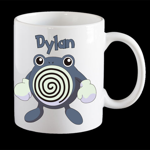 Personalised Pokemon Pollywrath Coffee Mug