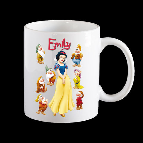 Personalised Snow White Mug, Disney Princess Snow White Mug
