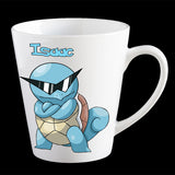 Personalised Pokemon Squirtle with sunglasses Coffee Mug