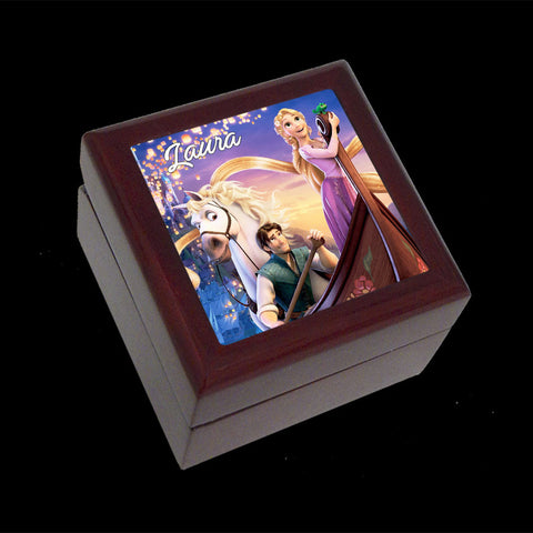 Tangled Disney jewellery box