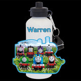 Personalised Thomas the Tank Engine and Friends Water Bottle, Thomas the Tank Engine drink bottle