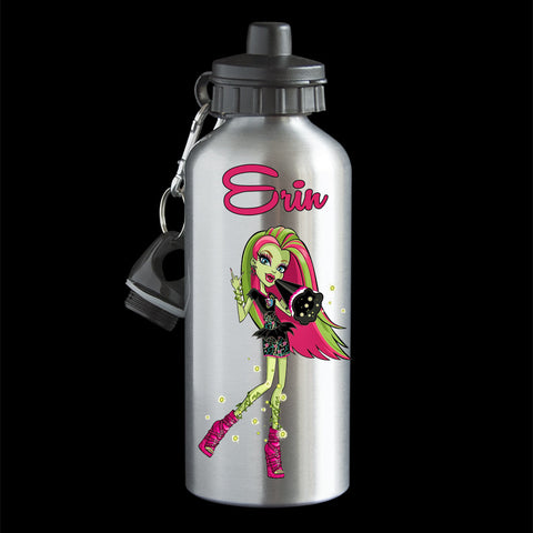 Personalised Venus McFlytrap Water Bottle, Monster High Venus McFlytrap Drink Bottle