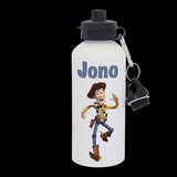 Personalised Woody Toy Story Water Bottle, drink bottle Woody