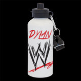 Personalised WWE Water Bottle, WWE Wrestling drink bottle