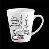 Zebra Love Personalised Coffee Mug