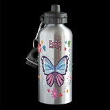 Personalised Butterfly Water Bottle, drink bottle