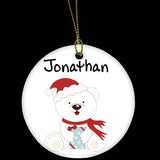 Christmas Ornament, personalised christmas bauble