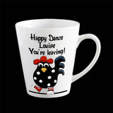 Happy Dance Leaving Coffee Mug