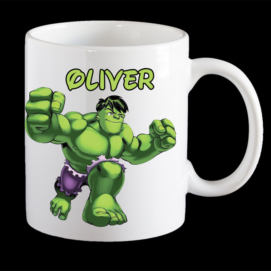 Personalised Coffee Hulk Coffee Hulk Personalised Mug Hulk Mug Coffee MugKids MugKids Personalised Y6mfgIbvy7