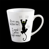 Funny personalised cat Mug