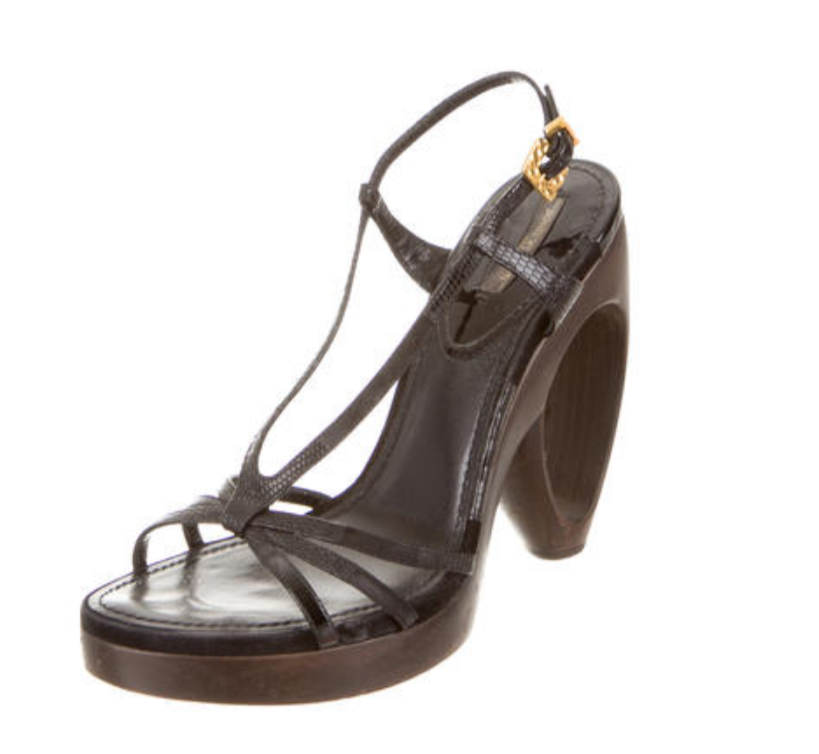Louis Vuitton Lizard Multistrap Sandals - Right Fashion Encore