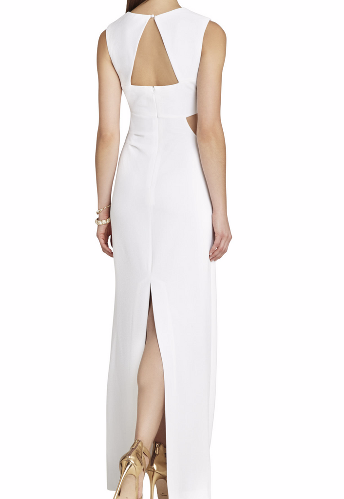 BCBG Kimora  Sleeveless Cutout Formal Gown - Right Fashion Encore - 5