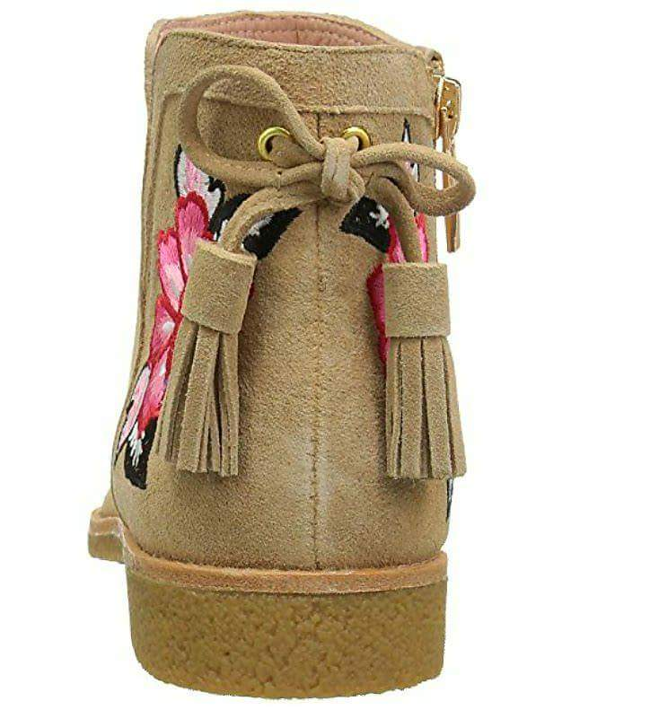Kate Spade Desert Women's Bellville Embroidered Suede Boots/Booties