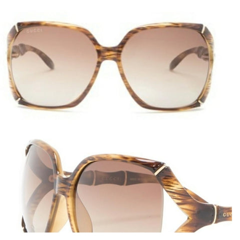 Miu Miu Gold Gradient Gray Scenique Collection Sunglasses  65L x 19W x 135H