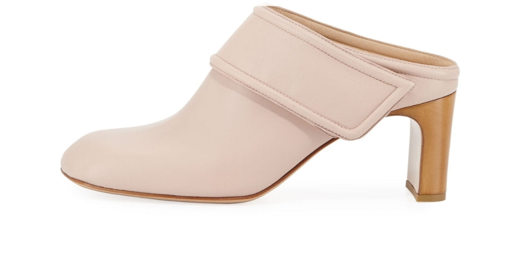 Rag & BoneElliot Mid-Heel Leather Mule