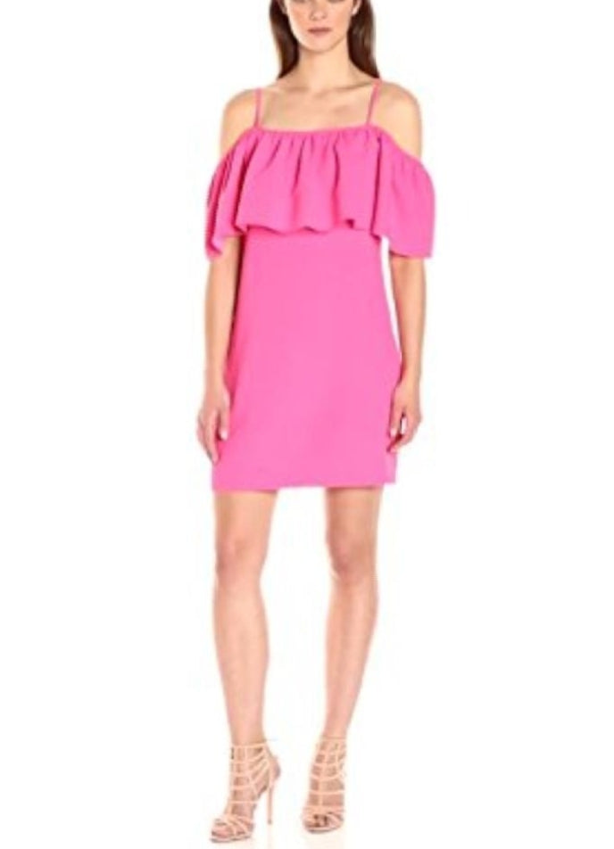 Trina Turk Pink  Aloha Cocktail Dress Size 10