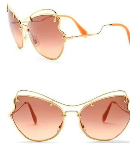 Balmain Women's Metal Round Sunglasses