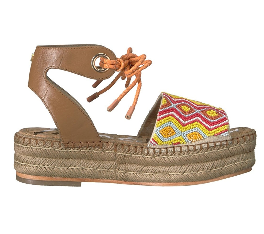 Sam Edelman Neera Women Espadrilles Wedge Sandals