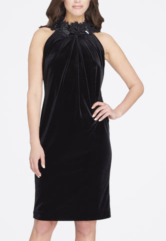 Monique Lhuillier Black Asymmetrical Ball Gown