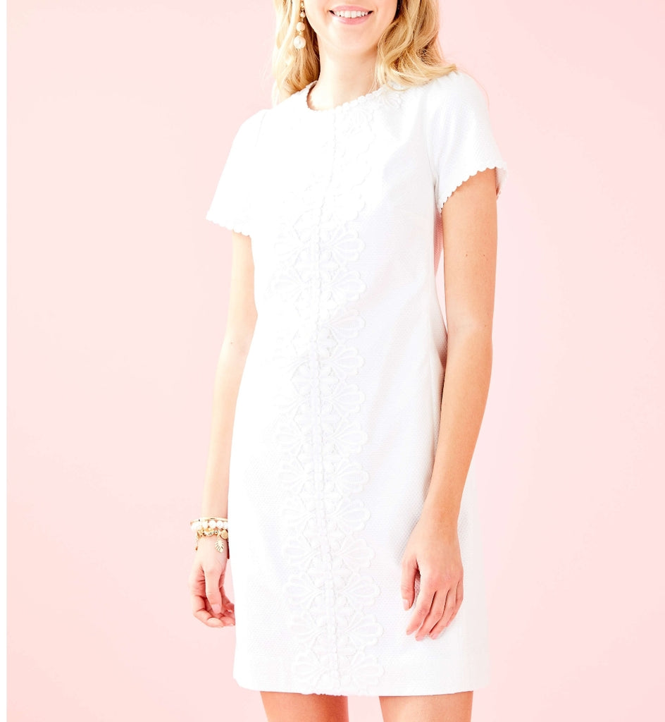 NWT Lili Pulitzer Maisie Stretch Piqué Shift Dress