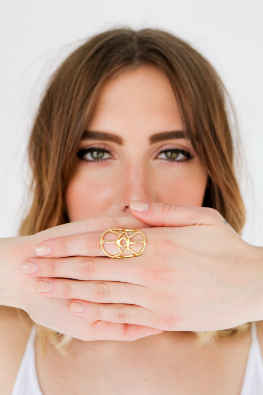 Fortuna Eye Ring