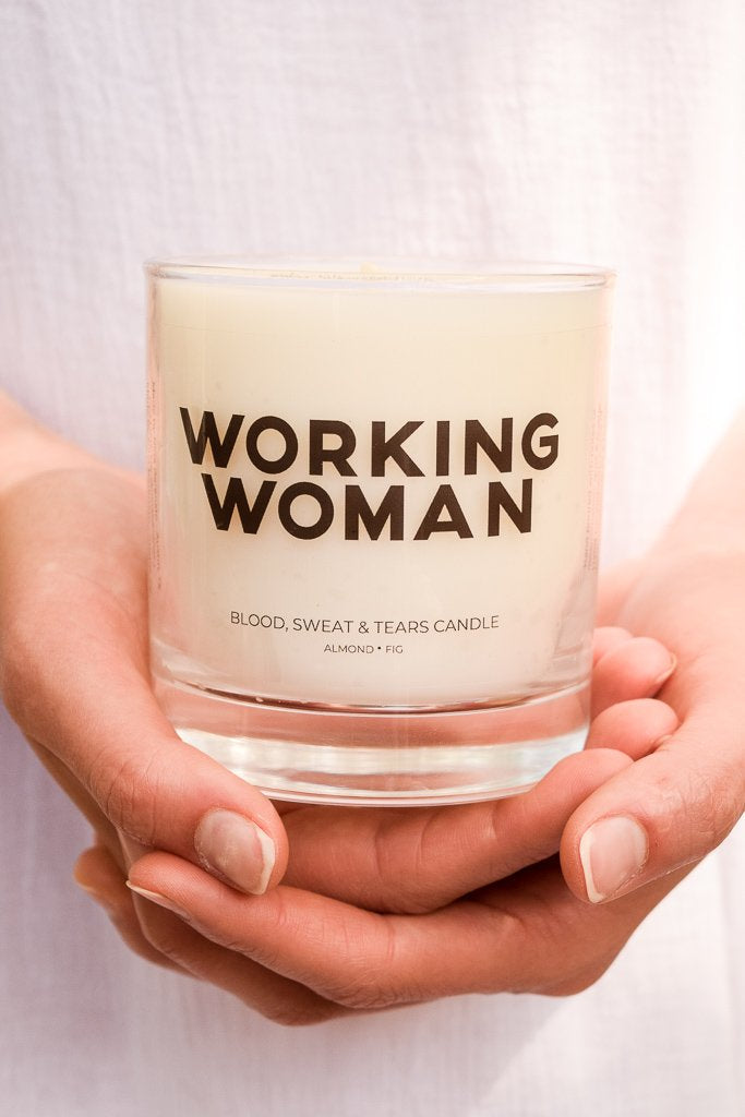 Working Woman Candle