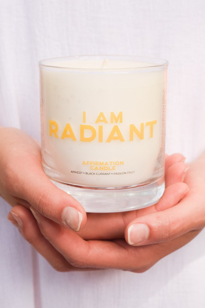Affirmation Candle - Radiant