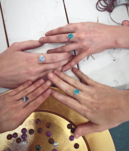 September 12th 3pm-6pm | Stonesetting Workshop & Ring Making Class with Nina