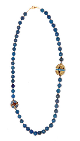 Allison Schiller Tibetan Apatite Necklace