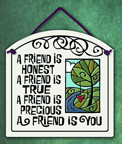A Friend is Precious Plaque - The Paschal Lamb