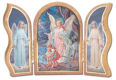 Guardian Angel Triptych - The Paschal Lamb