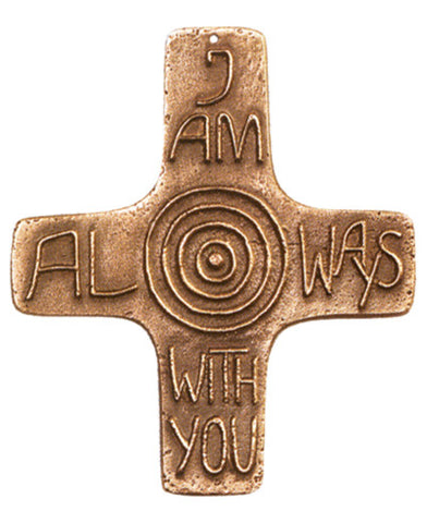 I Am With You Always Cross (Cross of Promise) - The Paschal Lamb