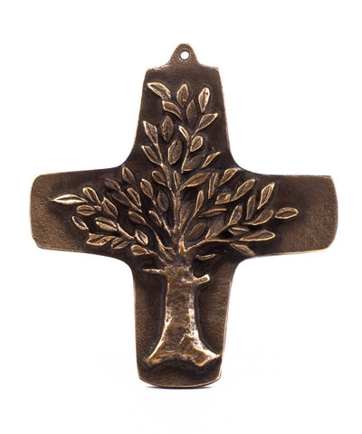 Tree of Life Cross - The Paschal Lamb