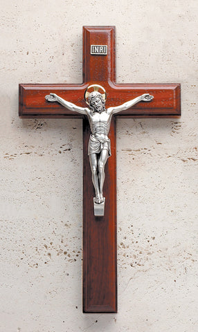 Rosewood Crucifix - The Paschal Lamb