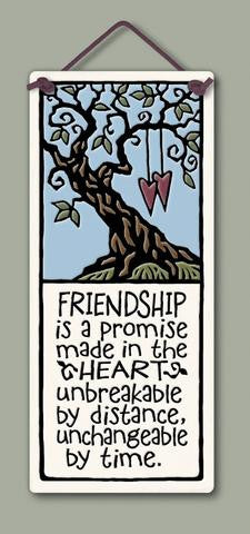Friendship is a Promise Plaque - The Paschal Lamb