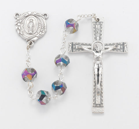 Vitriol Round Bead Rosary - The Paschal Lamb