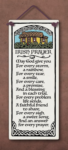 Irish Prayer Plaque - The Paschal Lamb