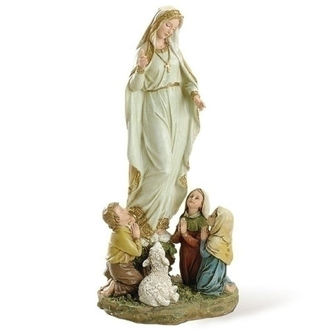 "12"" Our Lady of Fatima Figure - paschallambselect.com"