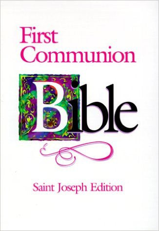 Saint Joseph First Communion Bible - paschallambselect.com