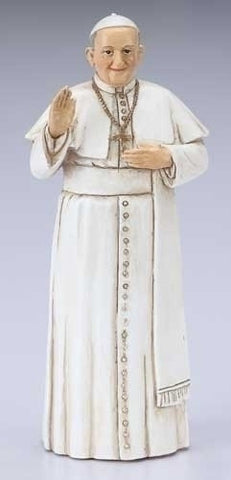 "4"" Pope Francis Statue - The Paschal Lamb"