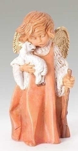 Fontanini Little Shepherd Angel - The Paschal Lamb