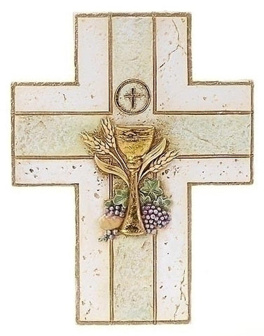 First Communion Wall Cross - The Paschal Lamb
