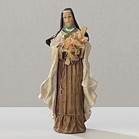 "3.5"" St. Therese Statue - The Paschal Lamb"