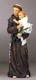 "3.5"" St. Anthony Statue - The Paschal Lamb"