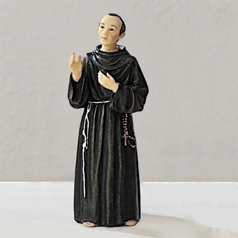 "4"" Maximilian Kolbe Statue - The Paschal Lamb"